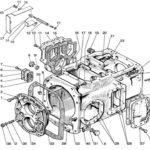 корпус коробки мтз 1221