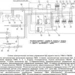 электрическая схема управления ПВМ, БД, ВОМ