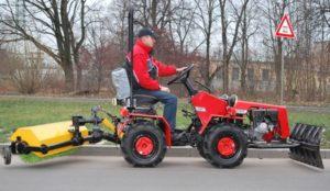 Минитрактор Беларус с коммунальным оборудованием