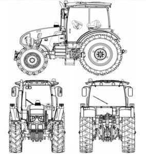 Внешний вид трактора Беларус