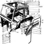 Малая кабина трактора Беларус