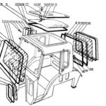 Стёкла малой кабины трактора Беларус