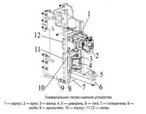 Сцепное устройство Беларус 2522