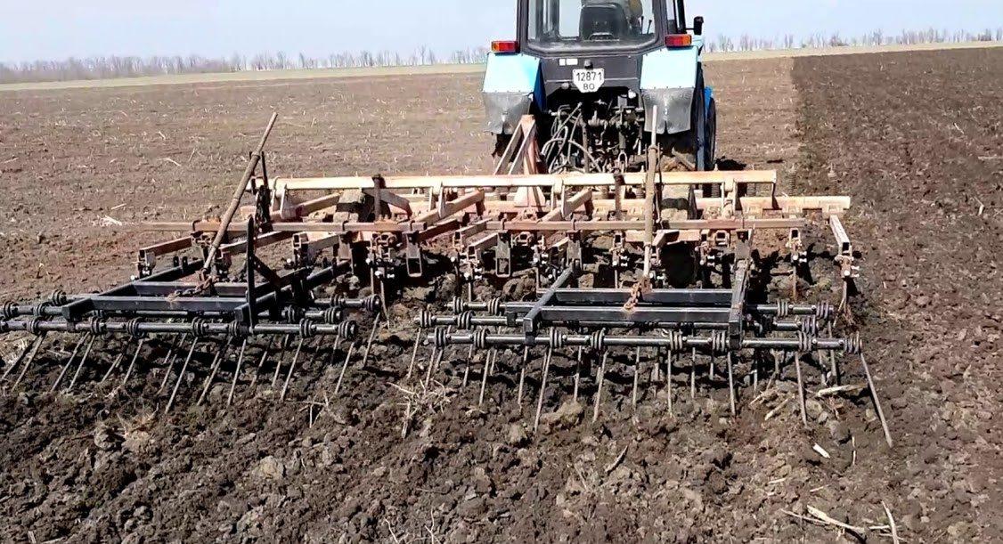 Поверхностная обработка почвы