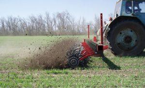 Обработка почвы по всходам